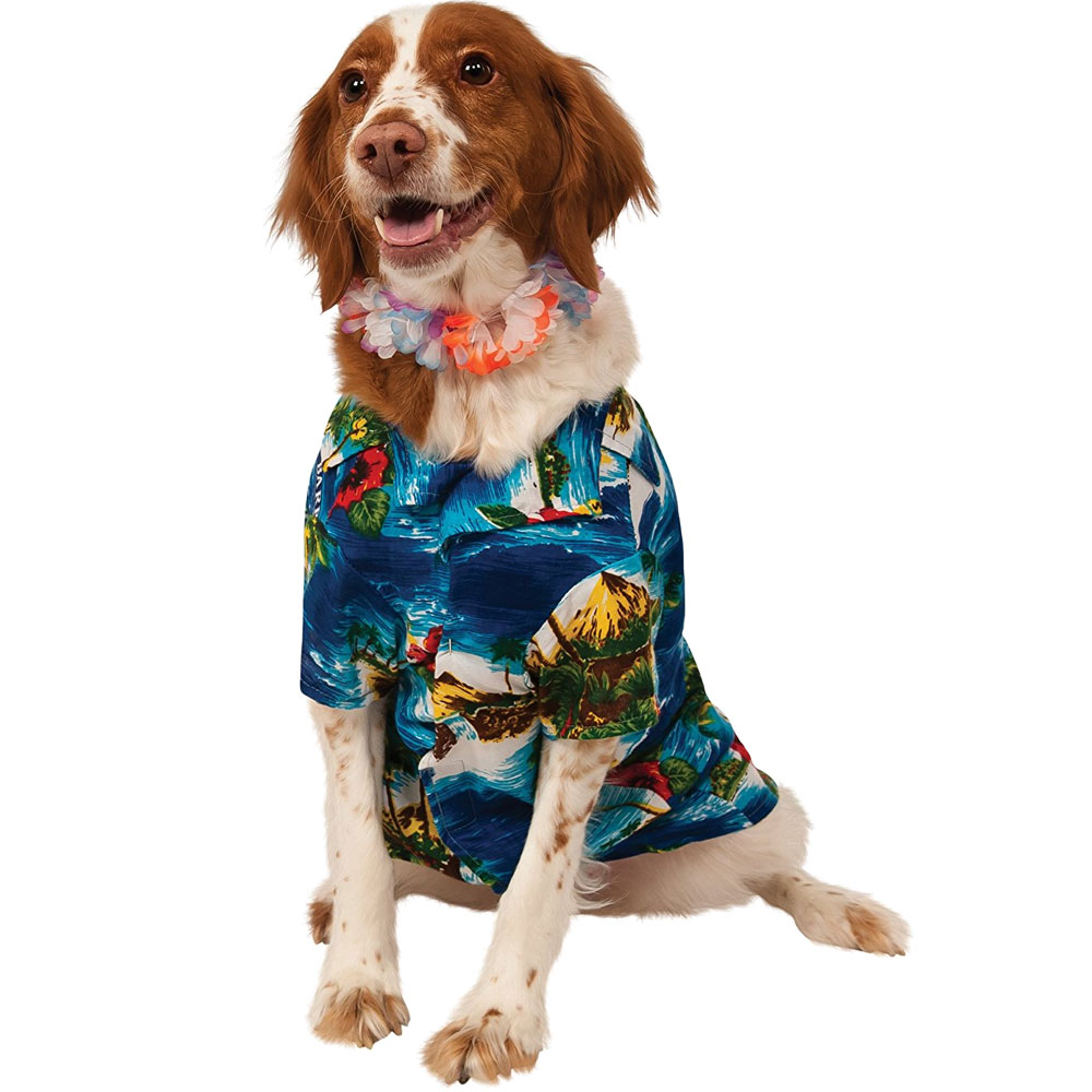 Image of Rubie's Luau Dog Costume - Medium from EntirelyPets