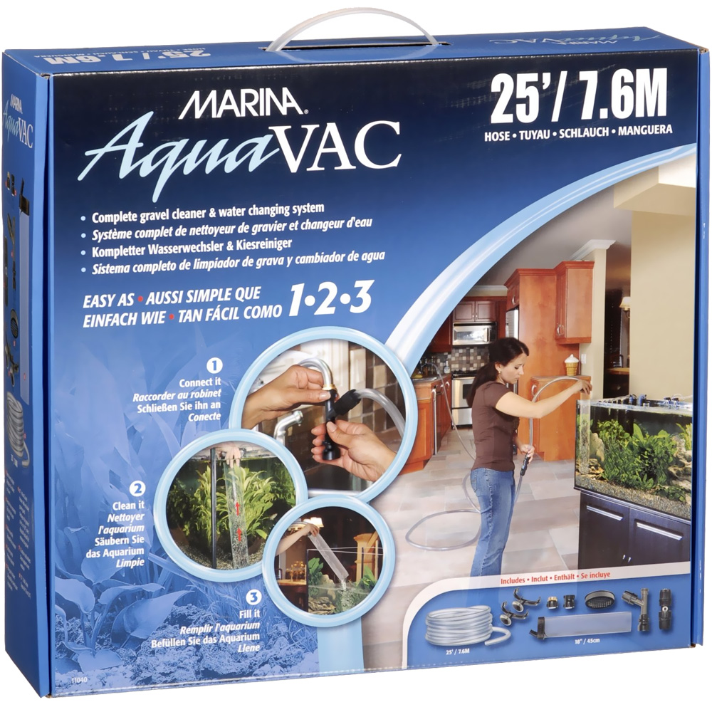 Marina AquaVac Easy Clean Water Changer (25' Hose) im test