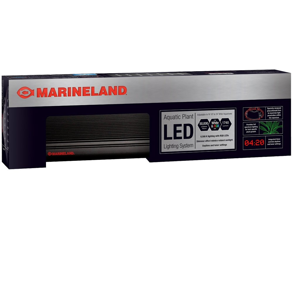 """Marineland Aquatic Plant Lighting System with Timer (18""""-24"""")"" im test"