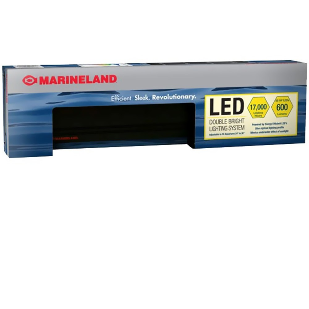 Marineland Double Bright Led Light 24 Quot 36 Quot On Sale