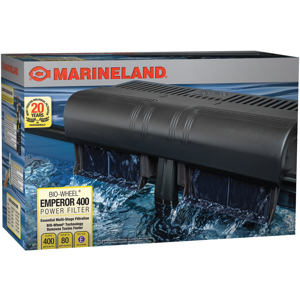 Marineland Emperor 400 Power Filter (upto 90 gal) im test