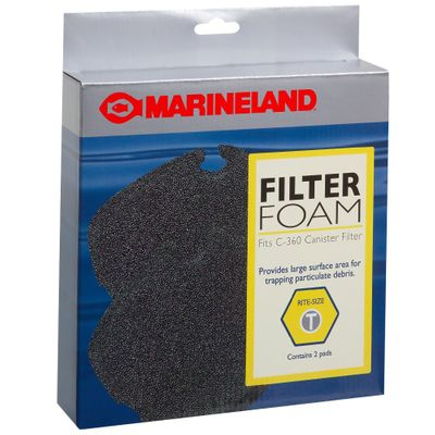 Marineland Filter Foam for C-360 Rite-Size T - 2 Pack - from EntirelyPets