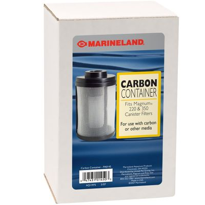 Marineland Magnum Carbon Container from EntirelyPets