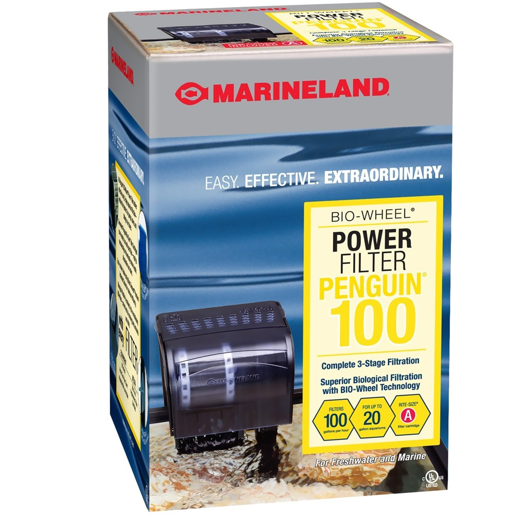 Marineland Penguin 100 Power Filter (upto 20 gal) im test