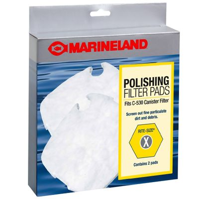 Marineland Polishing Filter Pads for C-530 Rite-Size X - 2 Pack - from EntirelyPets