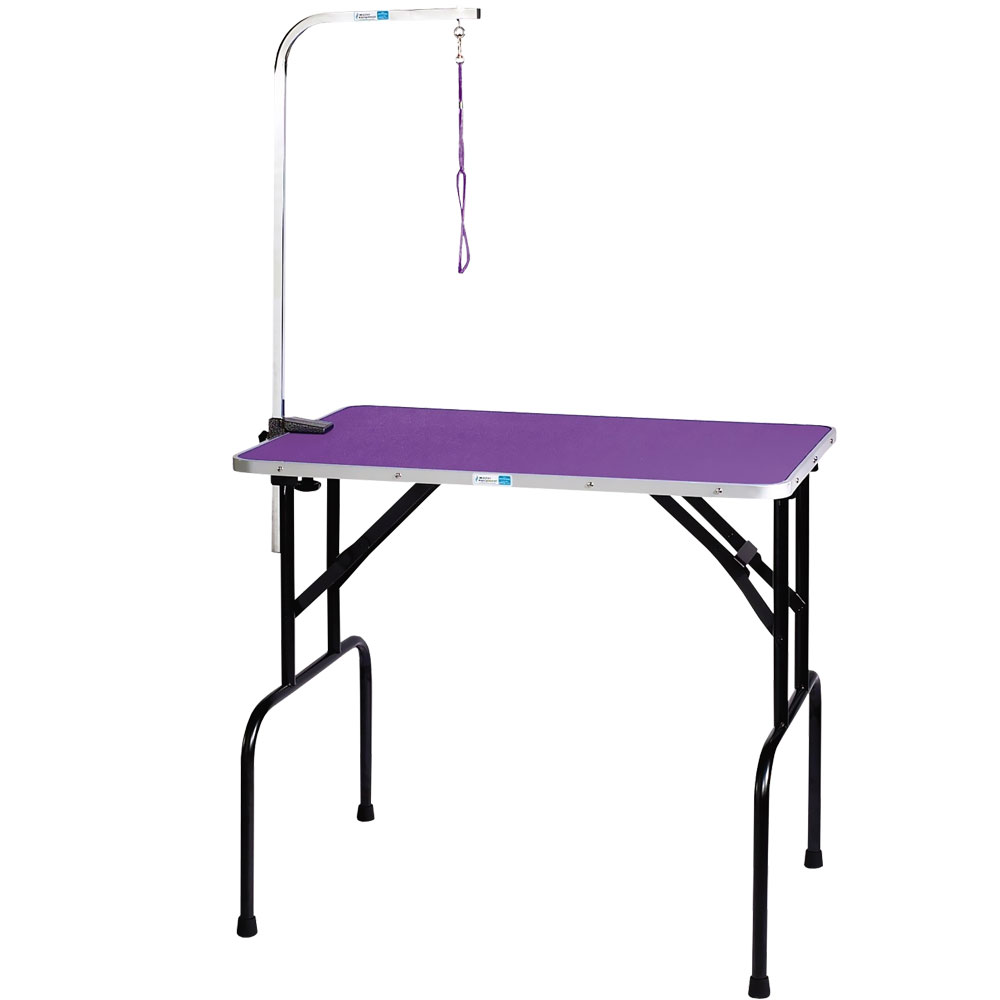 MASTER-EQUIPMENT-GROOM-TABLE-36IN-ARM-PURPLE-30X18IN