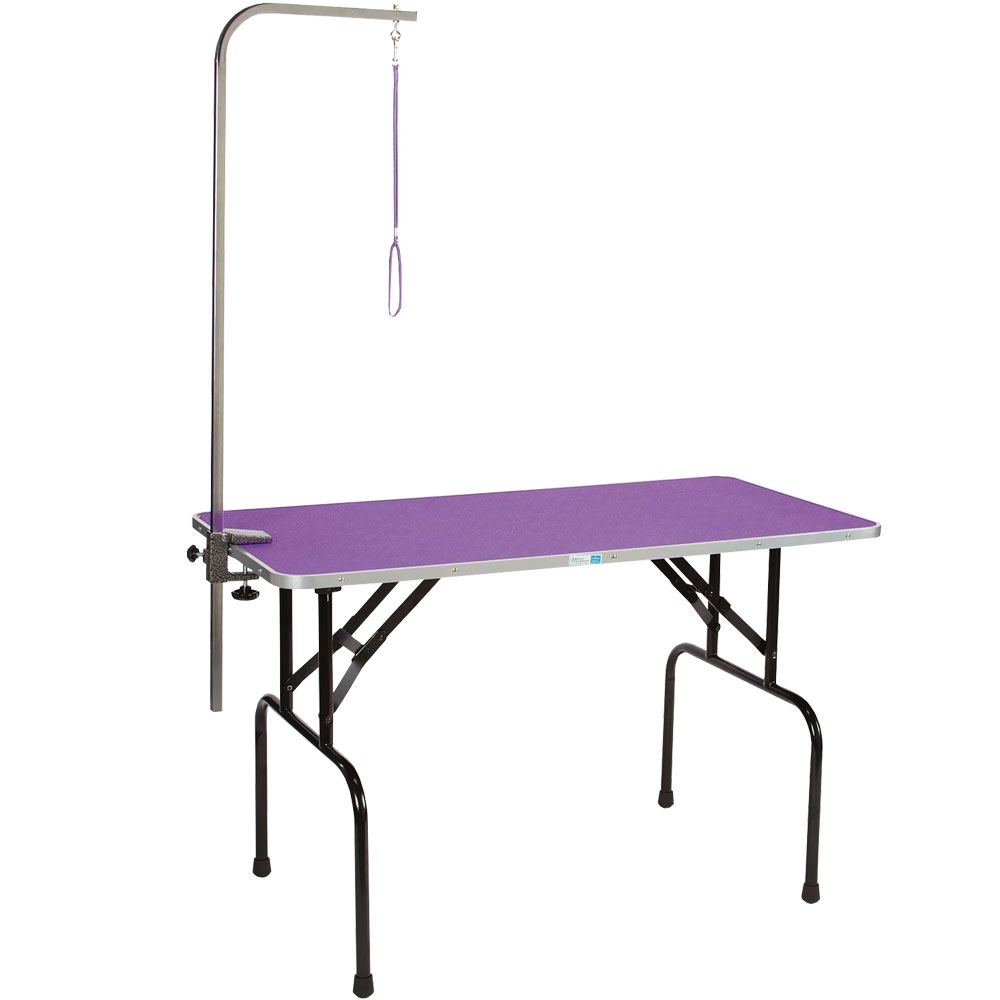 MASTER-EQUIPMENT-GROOM-TABLE-48IN-ARM-PURPLE-48X24IN