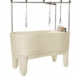 Master Equipment - PolyPro Lift Grooming Tub - White