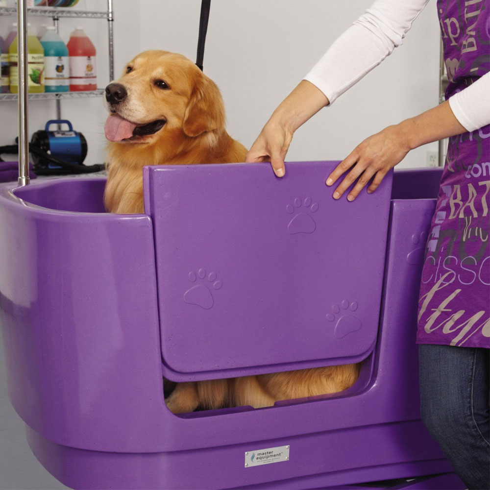 MASTER-EQUIPMENT-POLYPRO-GROOMING-TUB-PURPLE