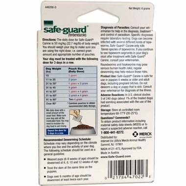MERCK-SAFEGUARD-CANINE-DEWORMER-2-GM