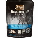 Merrick Backcountry - Real Whitefish Recipe Cuts Cat Food (12x3 oz)