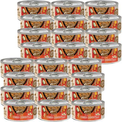 Merrick Grain Free - Cowboy Cookout Canned Dog Food (24x3 oz)
