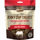 Merrick Grain Free - Jerky Chip Treats Real Beef Recipe Dog Treats (10 oz)