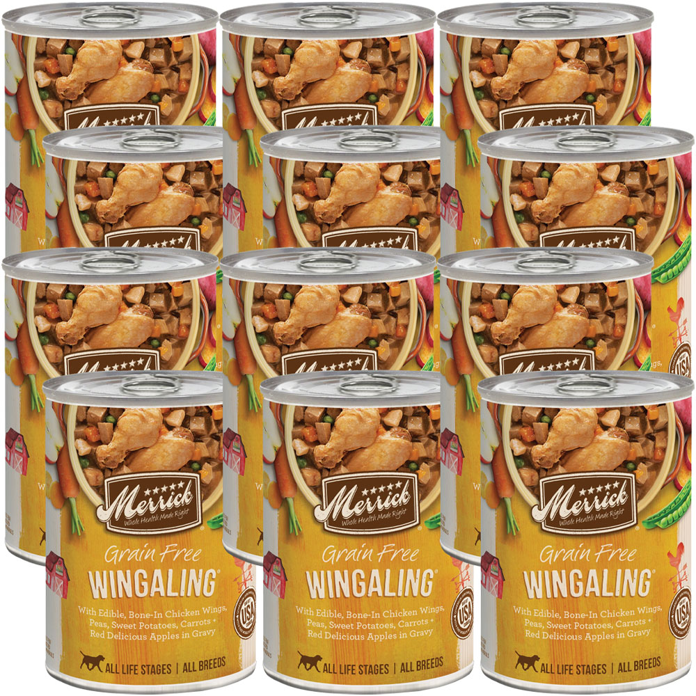 Merrick Grain Free - Wingaling Canned Dog Food (12x12.7 oz) im test