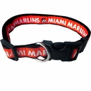 Miami Marlins Collar - Ribbon (Medium)