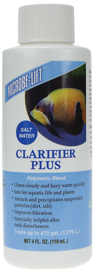 Microbe-Lift Clarifier Plus Salt Water (4 oz) im test