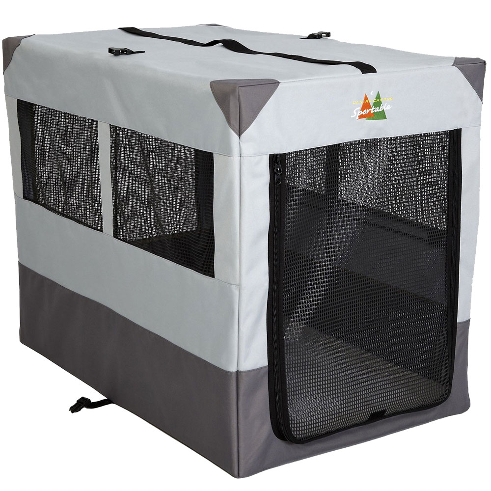 Midwest Canine Camper Sportable Dog Crate - 36x25.5x28 - from EntirelyPets