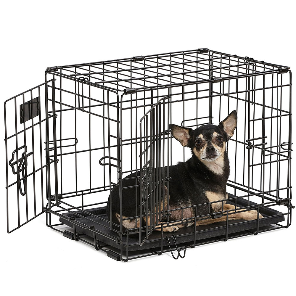 Midwest iCrate Double Door Dog Crate 18x12x14 - from EntirelyPets
