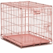 "Midwest iCrate Single Door Dog Crate - Pink (24""x""18"")"
