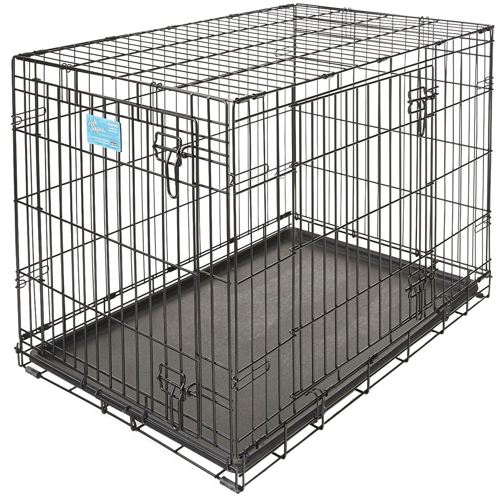 Midwest Life Stages Double Door Dog Crate - 24x18x21 - from EntirelyPets