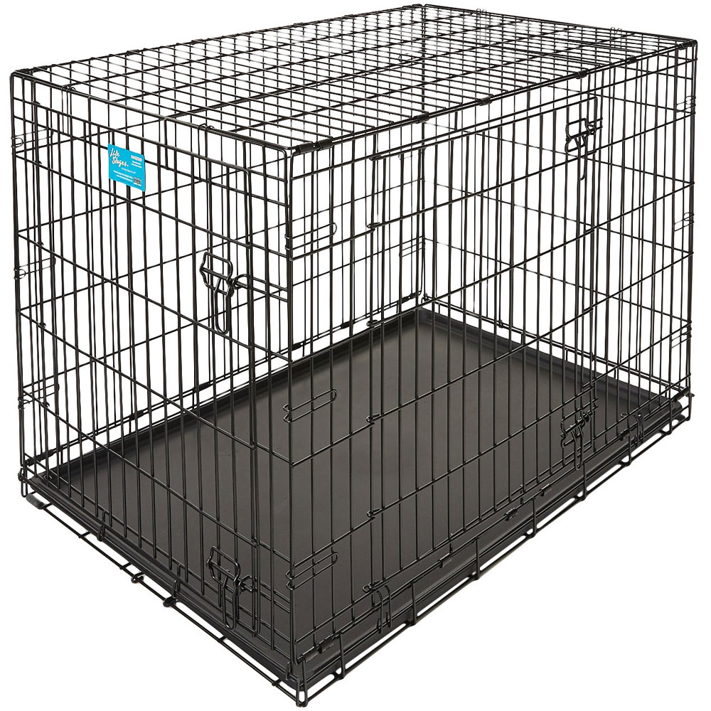 Midwest Life Stages Double Door Dog Crate - 42x28x31 - from EntirelyPets