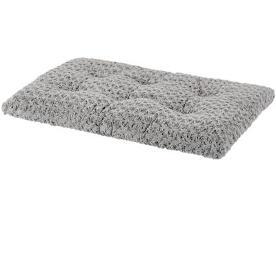 """Midwest Quiet Time Ombre Swirl Grey Dog & Cat Bed (23""""x18""""x2.5"""")"""