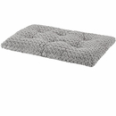 "Midwest Quiet Time Ombre Swirl Grey Dog & Cat Bed (23""x18""x2.5"")"