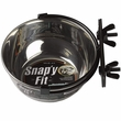 Midwest Stainless Steel Snap'y Fit Water & Feed Bowl (1.25-cups)