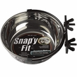 Midwest Stainless Steel Snap'y Fit Water & Feed Bowl (2.5-cups)