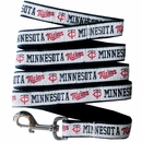 Minnesota Twins Dog Leash - Ribbon