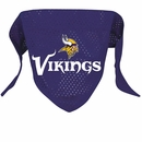 Minnesota Vikings Dog Bandana - Large