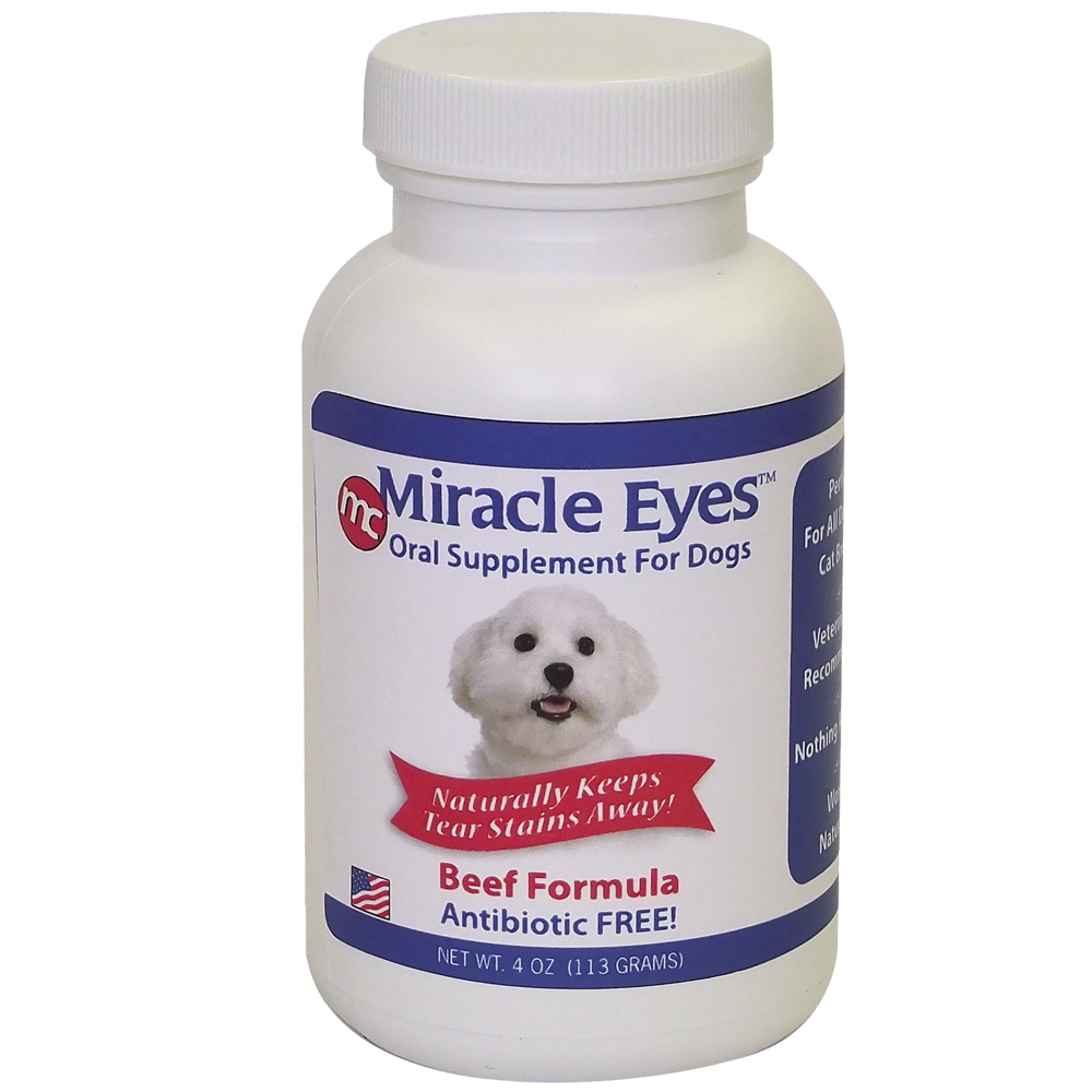 Miracle Eyes Oral Supplement for Dogs - Beef (4 oz) im test