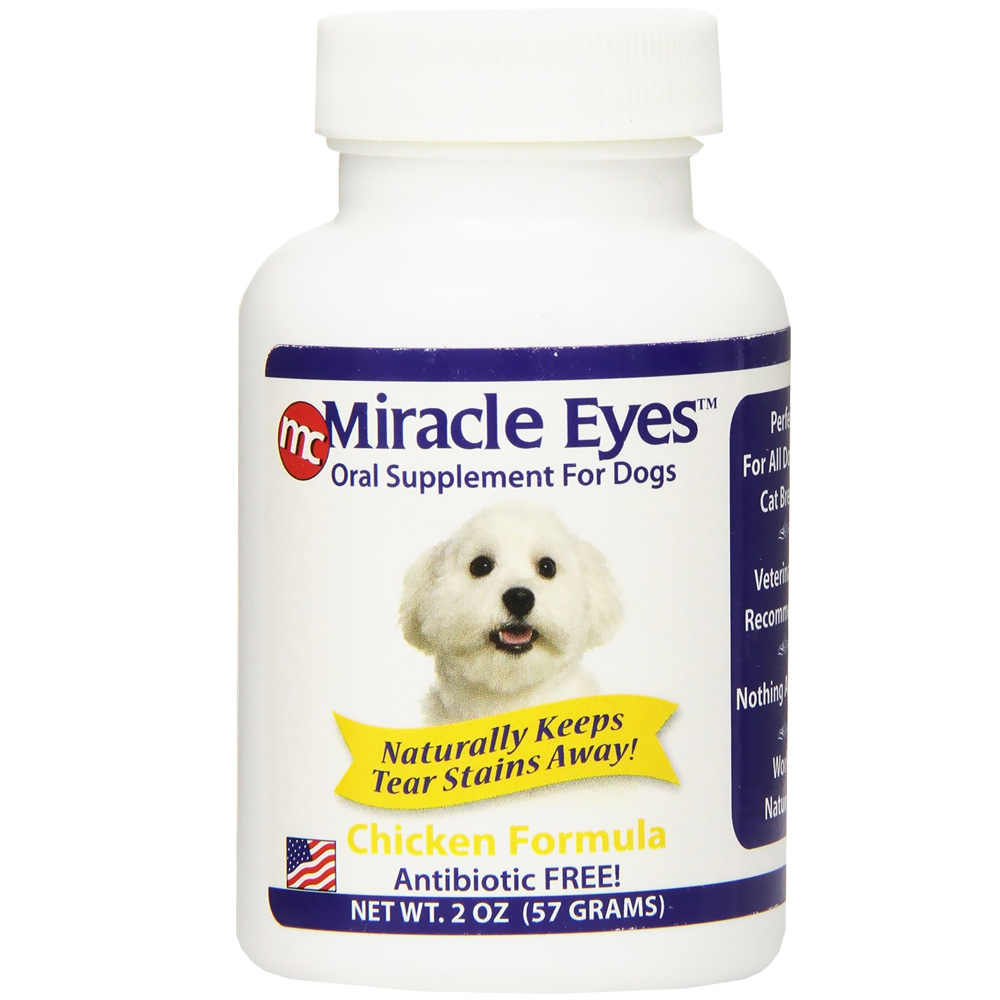 Miracle Eyes Oral Supplement for Dogs - Chicken (2 oz) im test