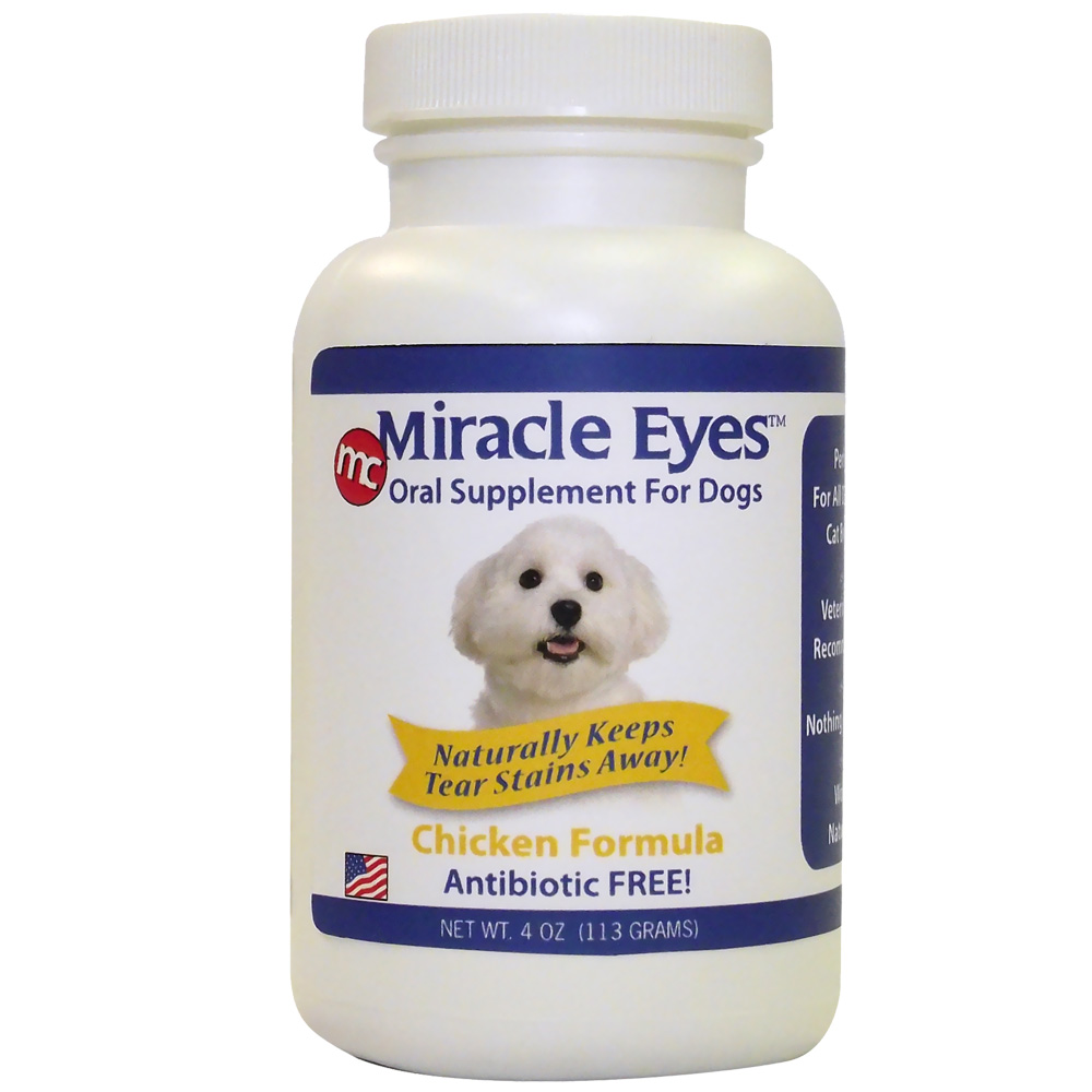 Miracle Eyes Oral Supplement for Dogs - Chicken (4 oz) im test