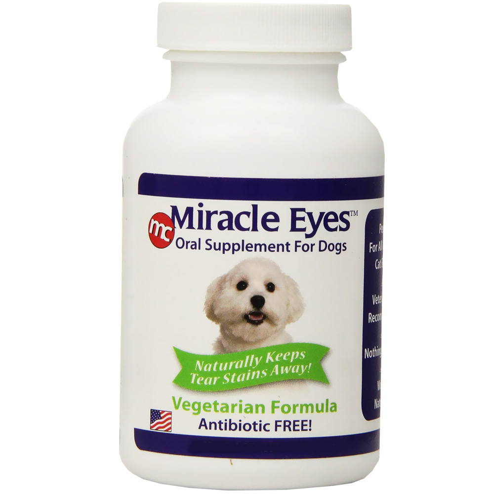 Miracle Eyes Oral Supplement for Dogs - Vegetarian (2 oz) im test