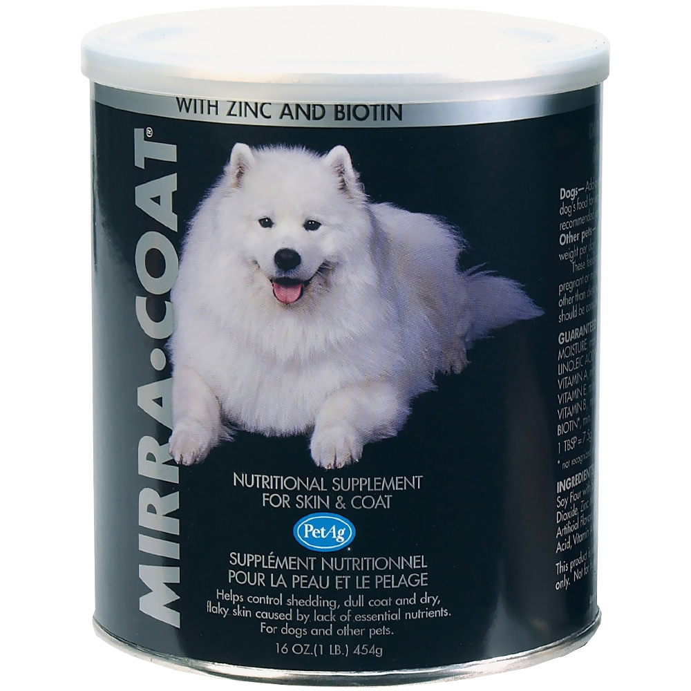 Mirra-Coat Powder For DOGS - 1 Lbs - From Entirely Pets