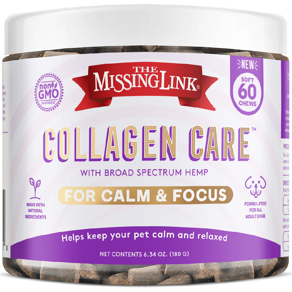 Missing Link Collagen Care Calm & Focus Soft Chews for Dogs (60 Soft Chews) im test