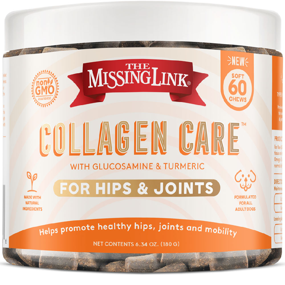 Missing Link Collagen Care Hips and Joints Soft Chews for Dogs (60 Soft Chews) im test