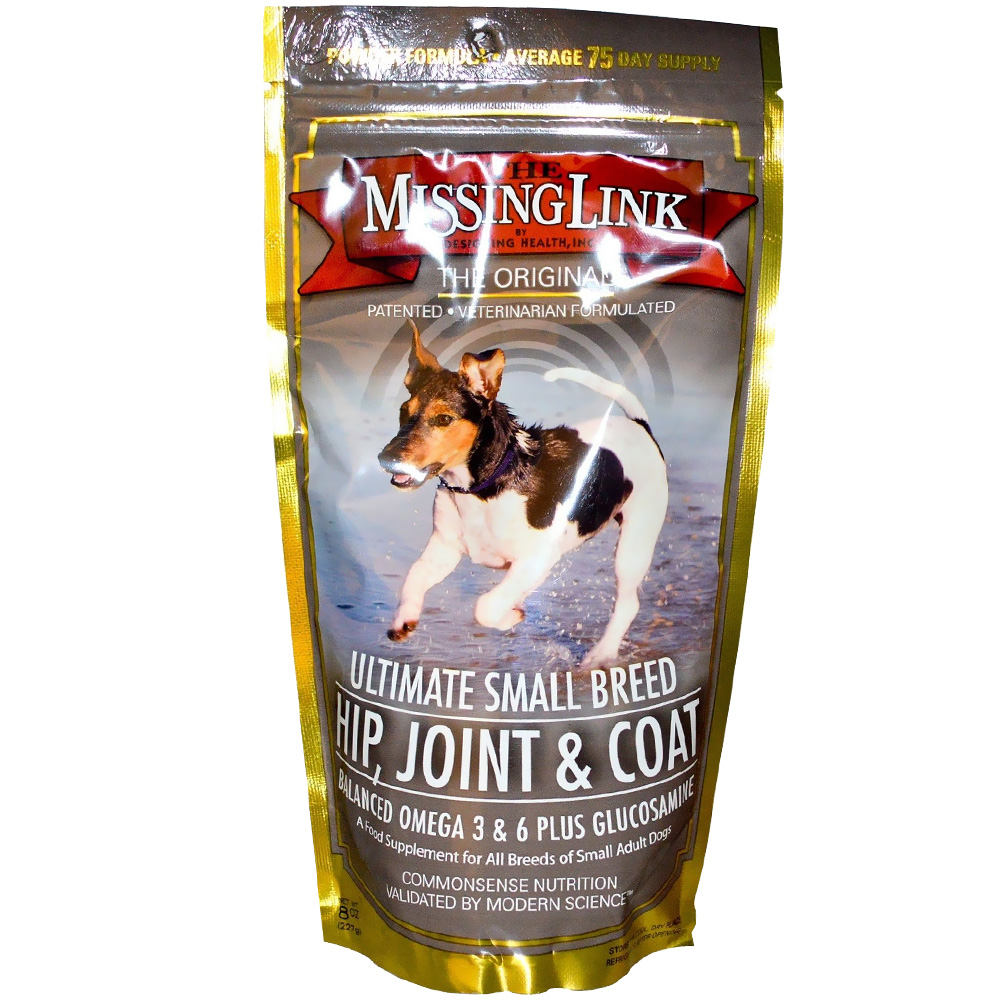 MISSING-LINK-ULTIMATE-SMALL-BREED-HIP-JOINT-AND-COAT-FOR-DOGS-8-OZ