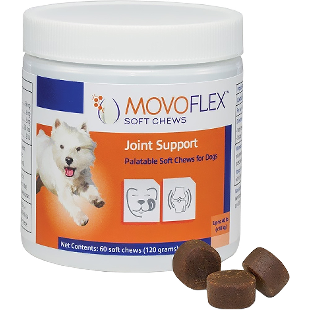 MovoFlex Joint Support for Dogs - Small (60 Soft Chews) im test