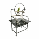"""Multi Level Playstand with Ladders - Black (32""""x21""""x64"""")"""