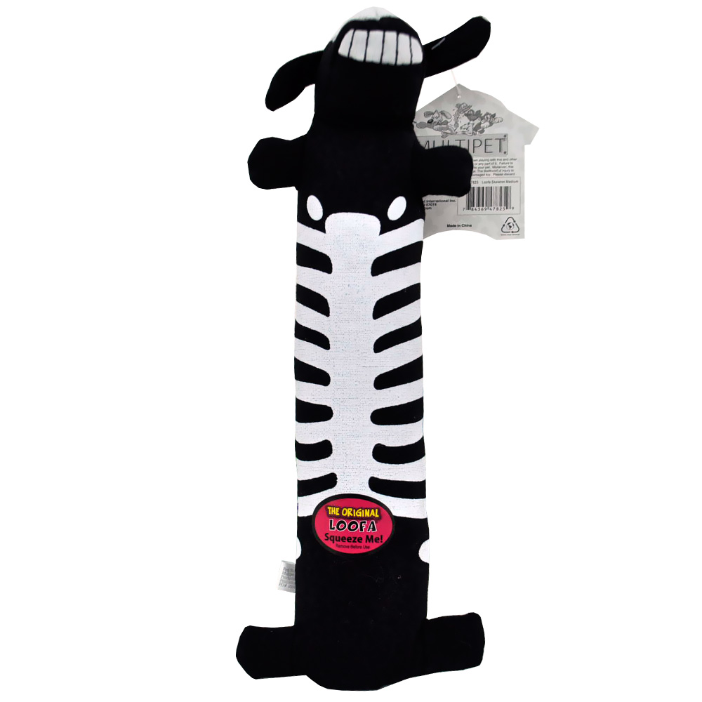MULTIPET-HALLOWEEN-MEDIUM-LOOFA-12-SKELETON