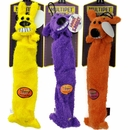 "Multipet Lightweight Loofa Dog Toy (3 pack) - 12"" (Assorted)"