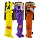 """Multipet Lightweight Loofa Dog Toy 12"""" (3 pack) - Assorted"""