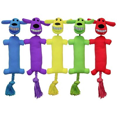"Multipet Loofa Launcher Dog Toy 13"" (Assorted Color)"