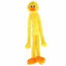"Multipet Swingin Slevins Plush Dog Toy 30"" - Duck"