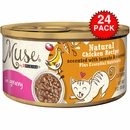 Purina Muse Natural Chicken with Tomato & Carrot Cat Food in Gravy (24x3oz)
