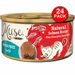 Muse Natural Salmon Cat Food in Gravy (24x3oz)