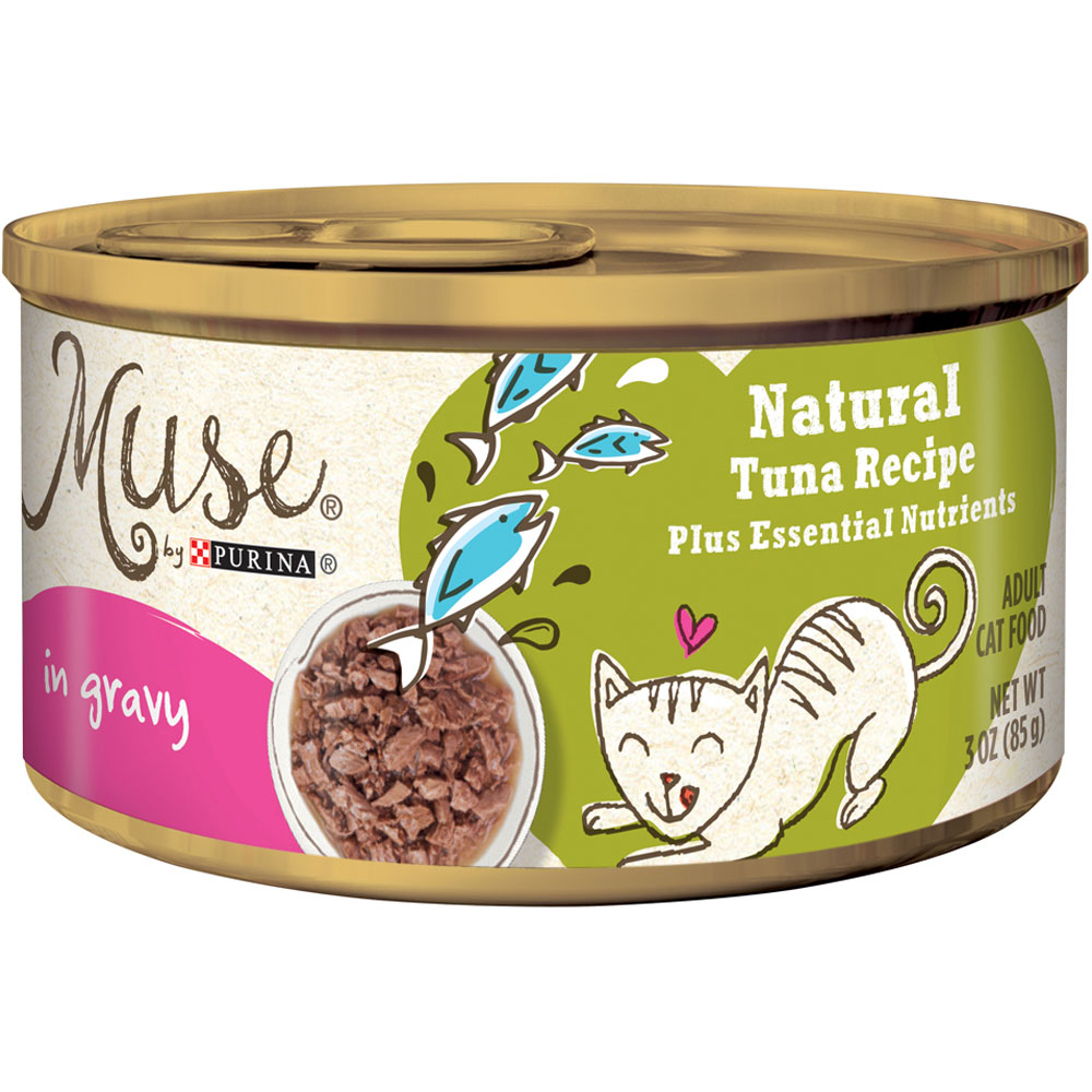 Purina Muse Natural Tuna Cat Food in Gravy (3 oz) im test