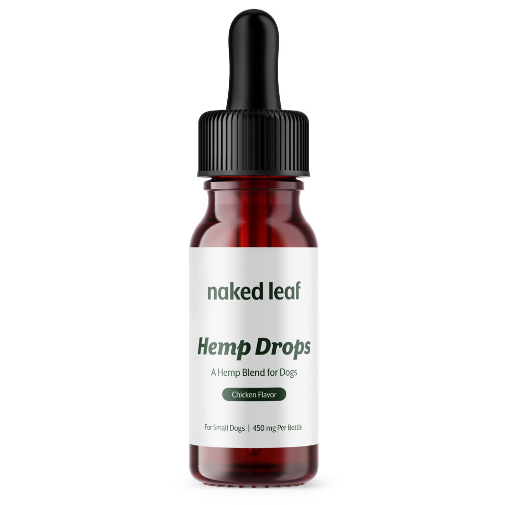 NAKED-LEAF-DAILY-DROPS-SMALL-CANINE-450MG-CHICKEN-30ML